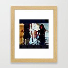Inimical Beast Framed Art Print