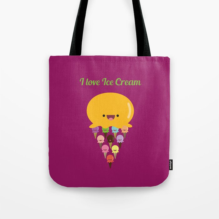 I love Ice Cream! Tote Bag