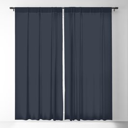 Navy Blazer Blackout Curtain