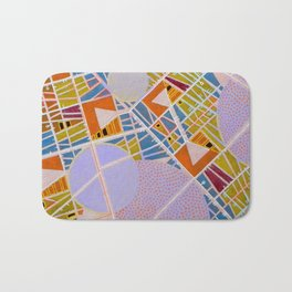 The cities of the Moon Bath Mat