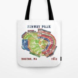Fenway Park Baseball Stadium Tote Bag