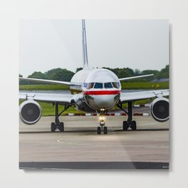 American Airlines N172AJ Boeing 757 at Manchester England Metal Print