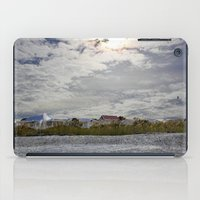 rileigh smirl iPad Cases featuring At the Beach by Rileigh Smirl