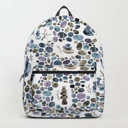 Wishing stones and cairns Backpack