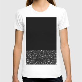 Glitter Colorblock T-shirt