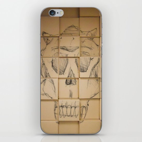 Space in Boxes iPhone & iPod Skin