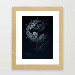 RAGNAROK MOON Framed Art Print