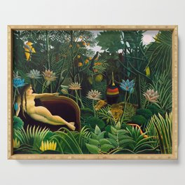 Henri Rousseau - The Dream , 1910 Serving Tray