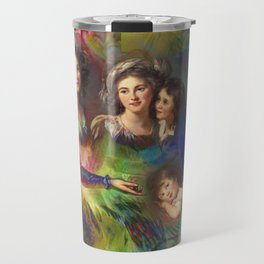 Rainbow Silks Travel Mug