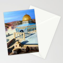 Dome of the rock-JERUSALEM Stationery Cards