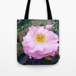 Funky Rose baby pink & yellow Tote Bag