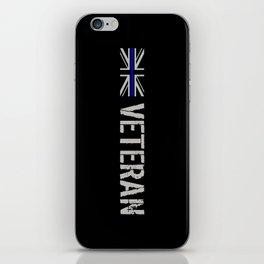British Police Veteran iPhone Skin