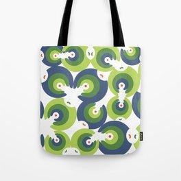 Mano Semilla/Hand Seed--Green Tote Bag