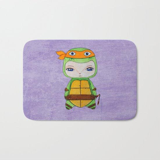 A Boy - Michelangelo TMNT Bath Mat