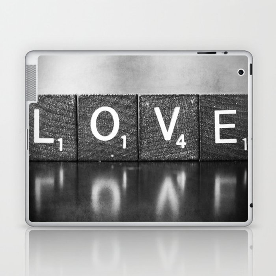 Love is a Beautiful Word - a fine art photograph Laptop & iPad Skin