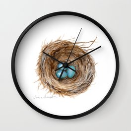Life is Fragile by Teresa Thompson Wall Clock
