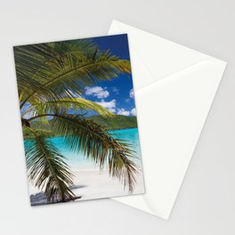 Tropical Shore Stationery Cards