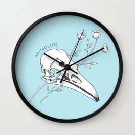 Am I too late? Wall Clock