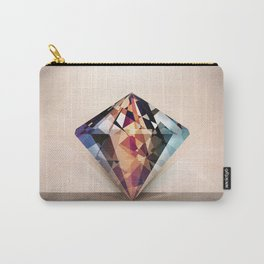 DIAMOND IS A GIRLS BEST FRIEND Carry-All Pouch