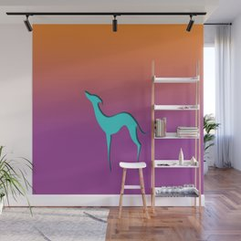 Greyhound Wall Mural
