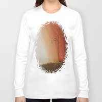 pixies Long Sleeve T-shirts featuring Walking Among the Pixies by Mary Frankenfield