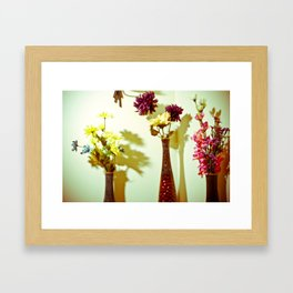 Floral everything Framed Art Print