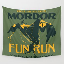 FUN RUN Wall Tapestry