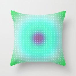 Ripple III Pixelated Throw Pillow
