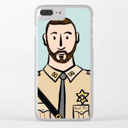 Beard Boy: Stephan Clear iPhone Case