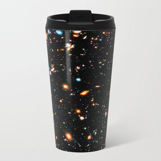 Hubble Extreme-Deep Field Metal Travel Mug