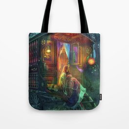 Gypsy Firefly Tote Bag