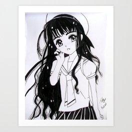 Tomoyo Daidouji Art Print