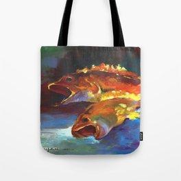 Red Rock Cod Tote Bag
