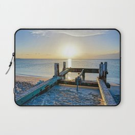 Lonely Dock-Providenciales, Turks & Caicos Laptop Sleeve
