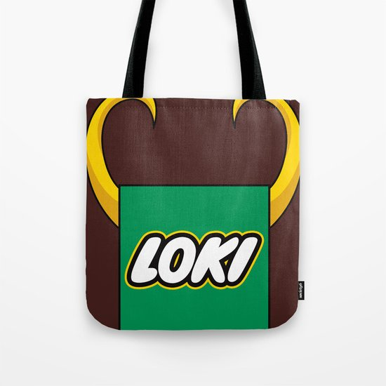 Loki Logo Tote Bag