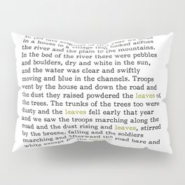 A Farewell to Arms - Leaves Pillow Sham