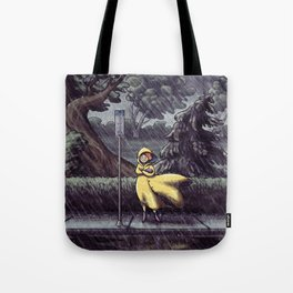 Wet & Windy Tote Bag