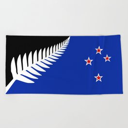 NZ flag (that nearly made it) 2016 Beach Towel