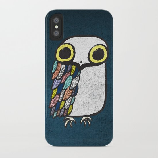 Wise Little Owl iPhone Case