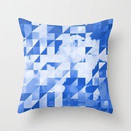 SKY triangles Throw Pillow
