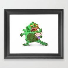 Monstruoso Framed Art Print