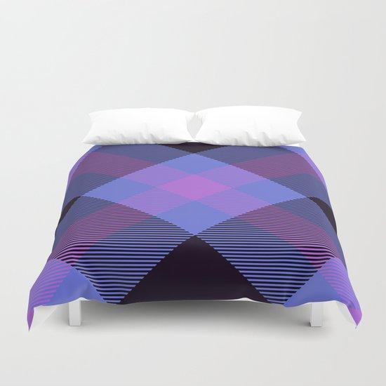 Tartan Pattern Duvet Cover