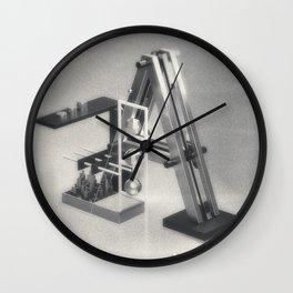 """Retro-futurism """"A"""" Wall Clock"""