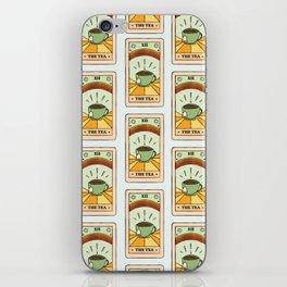 That's the TEA, sis tarot card iPhone Skin