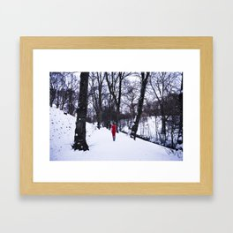 A Last Goodbye Framed Art Print
