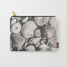 Sea Shell Collection Vintage Style Carry-All Pouch