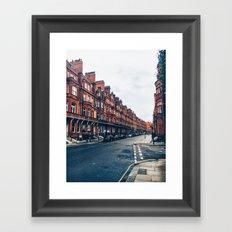 London Road Framed Art Print