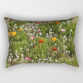 Field of Wild Flowers Rectangular Pillow