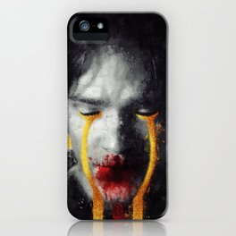 Melted Gold iPhone Case
