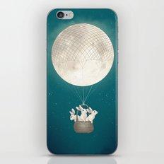 moon bunnies iPhone Skin